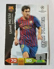 Panini XL Champions League 2011-2012 Lionel Messi Barcelona Star Player