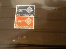 timbre pays-bas europa ** neuf n8871/2 1968