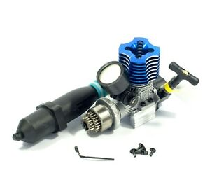 HSP RC 1/10 NITRO Buggy VX18 2.74cc pull start exhaust clutch bell filter mount
