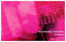 My Bloody Valentine POSTER Loveless Promo Ad Creation Records Kevin Shields