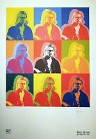 Kurt Cobain - Grafica d'autore numerata e firmata a mano di Stefano Fiore Arte