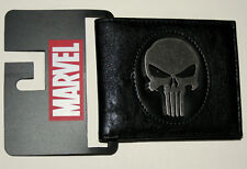 Marvel Comics Punisher Metal Skull Leather Like Wallet NEW NOS Tags Billfold