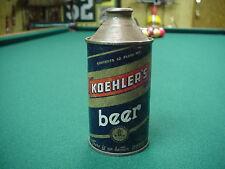 Koehler's Beer Cone Top Beer Can NICE