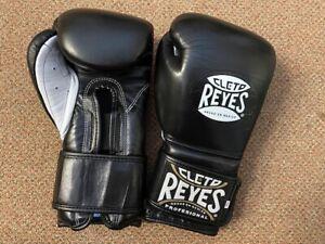 Cleto Reyes black leather 12oz Sparring gloves