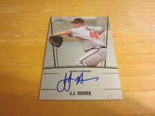 J.J. Hoover Autographed 2011 Leaf Metal Draft #JJH Card MLB Atlanta Braves