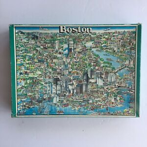 500 Piece Buffalo Games Inc Boston Cityscape Puzzle 🧩