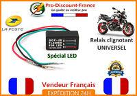 Relais Centrale Clignotant Moto Scooter Buggy Quad 12V 240W LED LEDS Clignotante