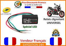Relais centrale clignotant moto scooter quad 12V 240W LED LEDS clignotants