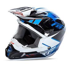 Fly Racing Kinetic Impulse MX motocross helmet blue blck adult XXL 2XL 73-33632X