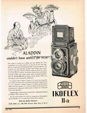 1953 Ikoflex II-a TLR Medium Format Camera Zeiss Ikon Vtg Print Ad