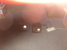 Pair of Constella 'Mystic Moon' 100w Multicoloured Moonflowers DISCO / BAND USE