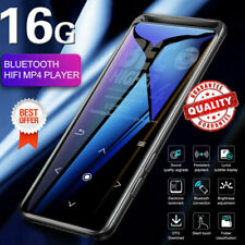 Bluetooth 5.0 MP4 Player Portable Lossless MP3 Player HiFi Audio Player FM Radio