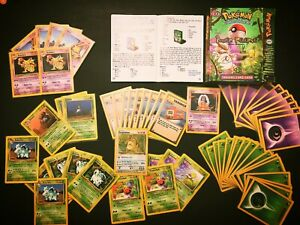 Complete Theme Deck 1999Wotc Jungle Power Reserve 60 sleeved Pokemon cards ready