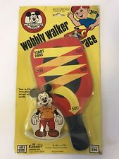 New listing Vintage 1976 Disney Wobbly Walker Race Mickey Mouse Club Toy Chemtoy 330 Sealed