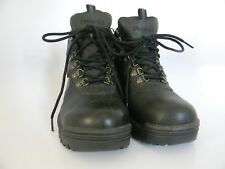 NWOT Mens Propet Cliff Walker Black Leather Upper Waterproof Hiking Boots Size 8