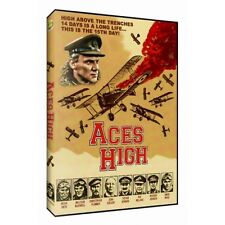 Aces High (DVD, 2014) Western Front-WWI-Red Baron-Malcolm Mcdowell