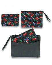 Iron Fist Dead Broke Clutch Purse Pink and Red Sequins Bag