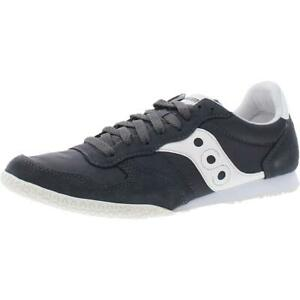 Saucony Mens Bullet Suede Retro Lace-Up Fashion Sneakers Shoes BHFO 2885