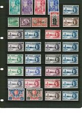 1946 Victory Omnibus selection mounted mint