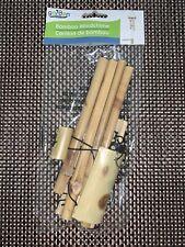 Bamboo Windchime Garden Collection Light Bamboo