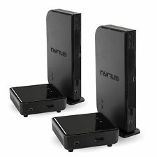Nyrius Digital Wireless HDMI Sender/Receiver System - 2 Pack