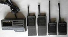 2 pairs of Motorola Expo handie talkies. One pair is Vhf, the other pair Uhf.