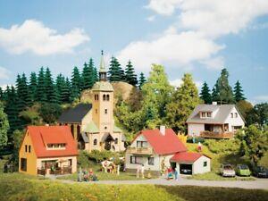 HO Scale Buildings - 15201 -Starter set - Waldkirchen village  - Kit