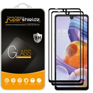 2x Supershieldz Full Cover Tempered Glass Screen Protector for LG Stylo 6