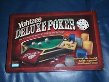 """Parker Brothers """"YAHTZEE DELUXE POKER"""" Dice Gambling Game."""