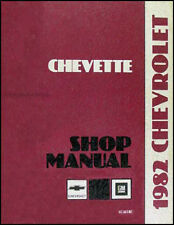 1982 Chevy Chevette Shop Manual Chevrolet Repair Service Gas and Diesel Scooter