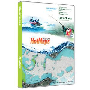 Navionics HotMaps Platinum North Lake Charts on SD/MSD