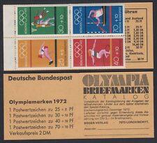 Germany Bund BRD 1972 ** Olympische Spiele Olympic Games MH 17