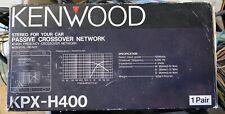 1 Pair OLD SCHOOL Kenwood KPX-H400 Passive Crossover Network,NOS,NIB,Rare