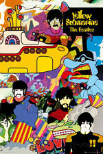 The Beatles - Yellow Submarine Poster Print, 24x36