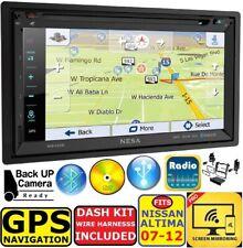 FITS 07 08 09 10 11 12 ALTIMA GPS NAVIGATION CD/DVD BLUETOOTH CAR RADIO STEREO