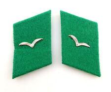 #e4470 1 Paar DDR Kragenspiegel / Tuchspiegel für Soldaten der Grenzflieger