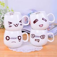 Cute Cartoon Tea Coffee Milk Cup Ceramic Travel Cup Pottery Water Mug Cup