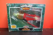 Power Rangers Wild Force Lion Blaster WORKING TESTED