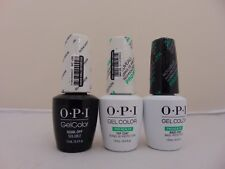 OPI Gelcolor - Alpine Snow L00, Healthy Nail Top & Base Coat FREE SHIPPING