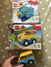 Lego Duplo Plane And Car Complete With Box One New