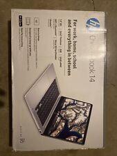 """New listing New Hp Chromebook 14"""" Hd Intel Pentium Silver N5000 4Gb Ram 64Gb eMmc Webcam Bt"""