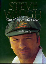 "AS NEW 1st Ed ""Out of My Comfort Zone: The Autobiography"" Steve Waugh Hardcover"