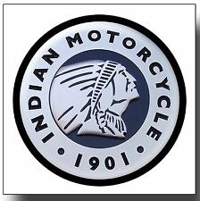 INDIAN MOTORCYCLES METAL DRINKS COASTER,ENAMELLED FINISH,