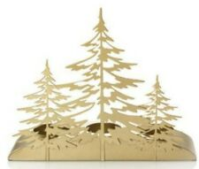 Yankee Candle  WINTER TREES GOLD TEA LIGHT CANDLE HOLDER Decor