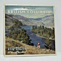Sawyers View-Master  A-014 BEAUTIFUL BRITISH COLUMBIA CANDA PACKET