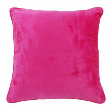"""Velvet Pink Square Pillow Case Bed Sofa Cushion Cover Indian Home Decor 18"""""""