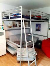IKEA Hochbett Grau gebraucht 200cm x 140cm Neupreis ca.300€ inkl. Matratze