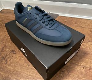 Adidas The Velosamba SPD Blue UK12 Cycling Shoes Samba Sold Out Rare BNWT