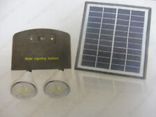 Solar Indoor Lights for Two Rooms Free postage Aust Stock !