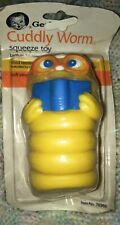 Vintage Gerber Soft Friend Cuddly Worm Baby Squeeze Toy Adorable! 1987 Nip!